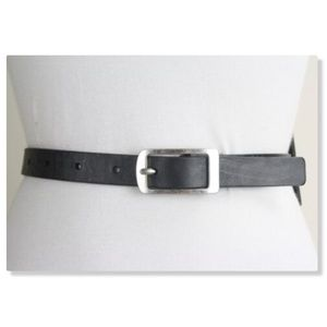 Banana Republic Leather Wide Layered Woven Belt 32